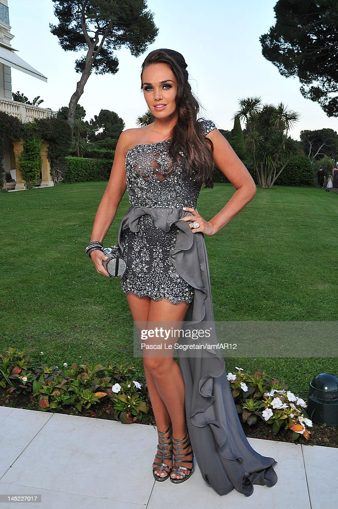 Tamara Ecclestone attends the 2012 amfAR's Cinema Against AIDS during the 65th Annual Cannes Film Festival at Hotel Du Cap on May 24, 2012 in Cap D'Antibes, France.