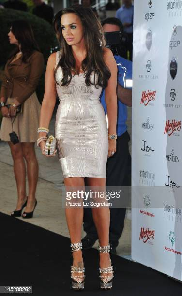Tamara Ecclestone attends the Amber Fashion Show and Charity Auction at Le Meridien Beach Plaza Hotel on May 25 2012 in Monaco Monaco