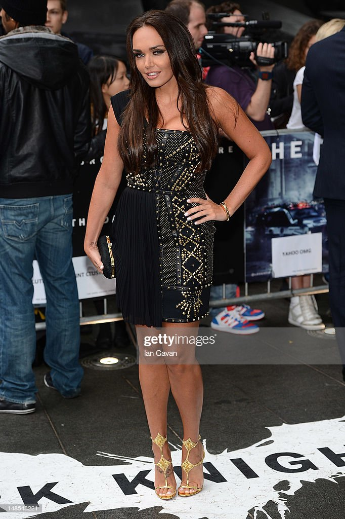 Tamara Ecclestone attends the European premiere of 'The Dark Knight Rises' at Odeon Leicester Square on July 18, 2012 in London, England.