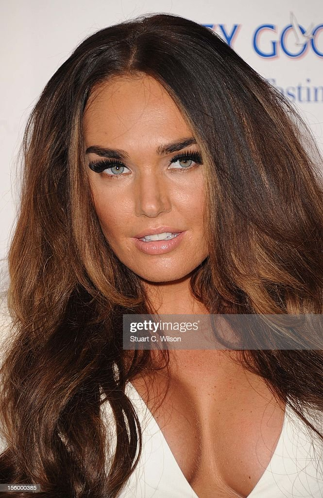 Tamara Ecclestone attends the Grey Goose Winter Ball at Battersea Power station on November 10, 2012 in London, England.
