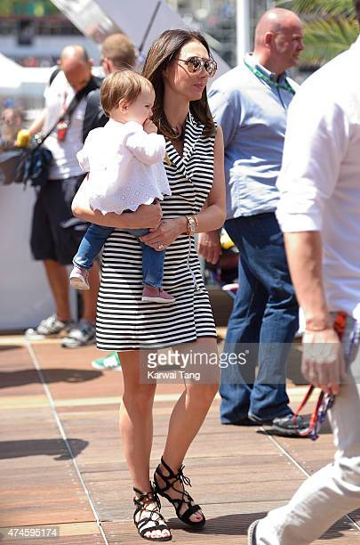 Tamara Ecclestone attends the Infiniti Red Bull Racing Energy Station at Monte Carlo on May 24 2015 in Monte Carlo Monaco