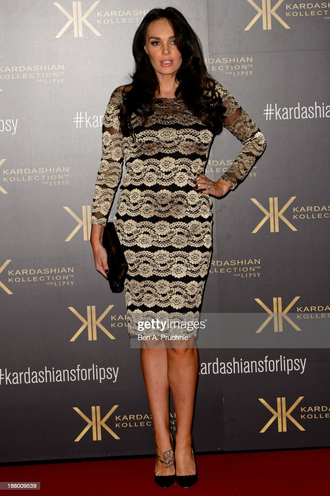 <a gi-track='captionPersonalityLinkClicked' href=/galleries/search?phrase=Tamara+Ecclestone&family=editorial&specificpeople=575176 ng-click='$event.stopPropagation()'>Tamara Ecclestone</a> attends the launch party for the Kardashian Kollection for Lipsy at Natural History Museum on November 14, 2013 in London, England.