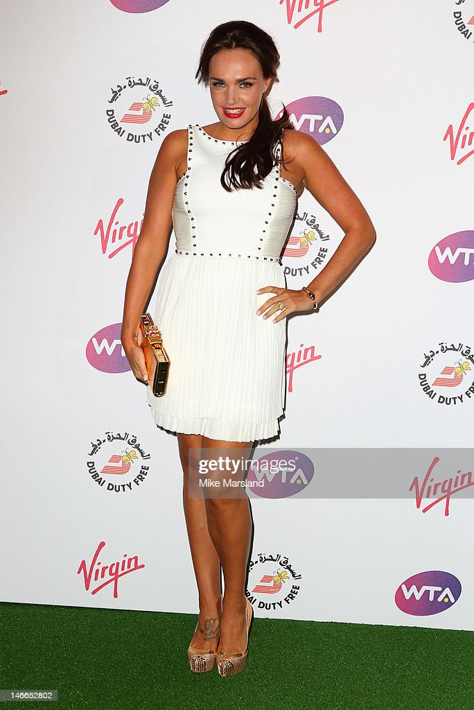 Tamara Ecclestone attends the Pre-Wimbledon Party at Kensington Roof Gardens on June 21, 2012 in London, England.