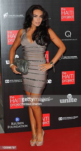 Tamara Ecclestone attends The Reuben Foundation Haiti Fundraiser on May 26 2010 in London England