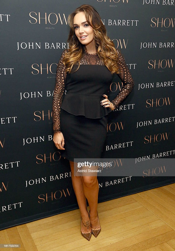 <a gi-track='captionPersonalityLinkClicked' href=/galleries/search?phrase=Tamara+Ecclestone&family=editorial&specificpeople=575176 ng-click='$event.stopPropagation()'>Tamara Ecclestone</a> attends the SHOW Beauty launch at the John Barrett Salon at Bergdorf Goodman on September 23, 2013 in New York City.