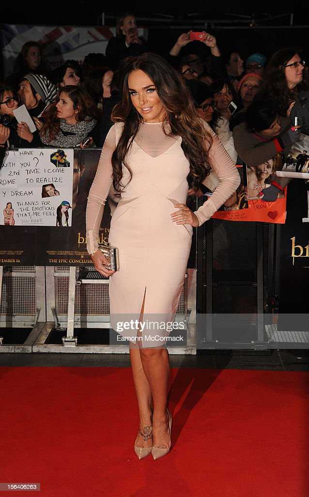 Tamara Ecclestone attends the UK Premiere of 'The Twilight Saga: Breaking Dawn - Part 2' at Odeon Leicester Square on November 14, 2012 in London, England.