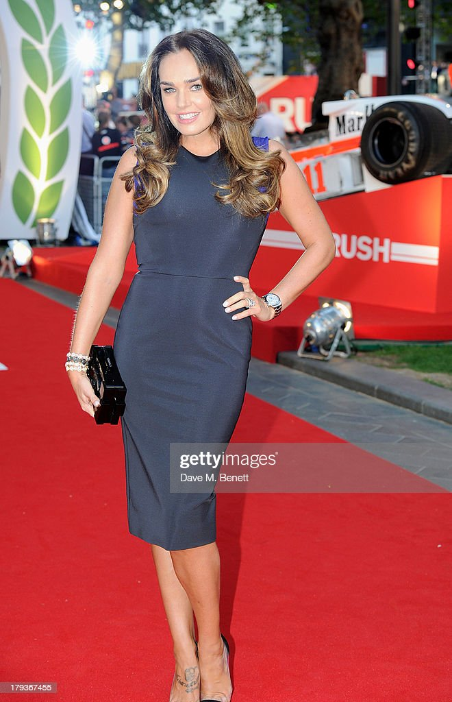 <a gi-track='captionPersonalityLinkClicked' href=/galleries/search?phrase=Tamara+Ecclestone&family=editorial&specificpeople=575176 ng-click='$event.stopPropagation()'>Tamara Ecclestone</a> attends the World Premiere of 'Rush' at Odeon Leicester Square on September 2, 2013 in London, England.