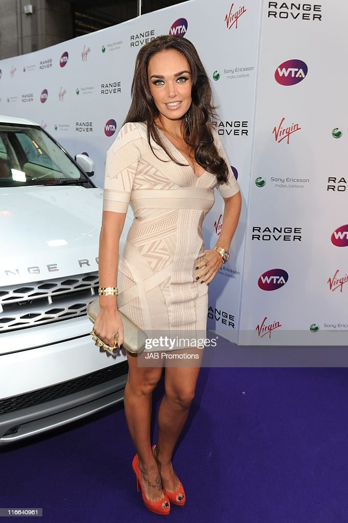 Tamara Ecclestone attends WTA Pre-Wimbledon party in association with Range Rover at Kensington Roof Gardens on June 16, 2011 in London, England.