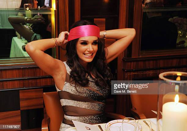 Tamara Ecclestone celebrates her 27th birthday in the private room at Cipriani Restaurant on June 25 2011 in London