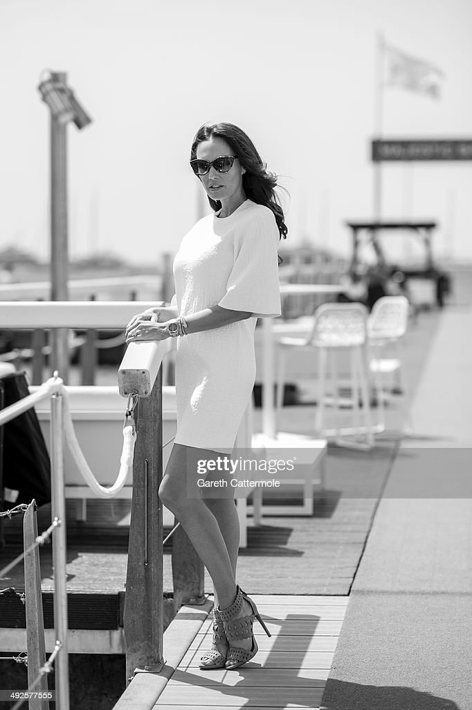 <a gi-track='captionPersonalityLinkClicked' href=/galleries/search?phrase=Tamara+Ecclestone&family=editorial&specificpeople=575176 ng-click='$event.stopPropagation()'>Tamara Ecclestone</a> during a portrait session at the 67th Annual Cannes Film Festival on May 21, 2014 in Cannes, France.