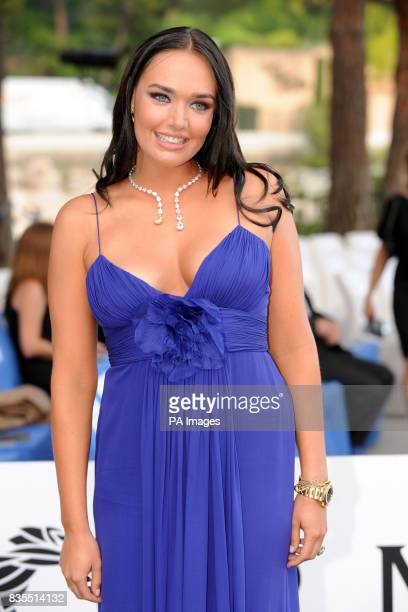 Tamara Ecclestone during the Fashion Show at The Amber Lounge Le Meridien Beach Plaza Hotel Monaco