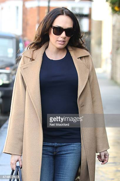 Tamara Ecclestone seen arriving for lunch on February 24 2014 in London England