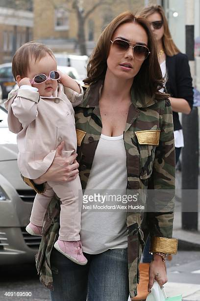 Tamara Ecclestone seen shopping at Trotters on King's Road on April 10 2015 in London England