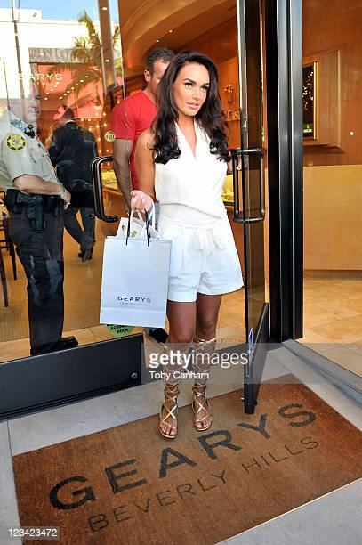 Tamara Ecclestone seen shopping on Rodeo Drive on September 2 2011 in Beverly Hills California