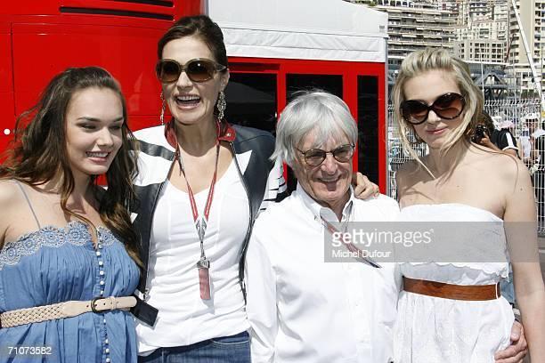 Tamara Ecclestone Slavica Ecclestone Bernie Ecclestone and Petra Ecclestone arrive at the Monaco Formula 1 Grand Prix at the Monte Carlo Circuit on...