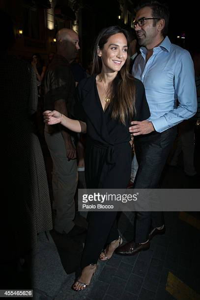Tamara Falco attends FIBA Private Party on September 14 2014 in Madrid Spain