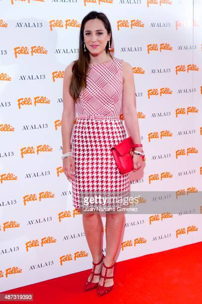 Tamara Falco attends Folli Follie flagship store inauguration at Folli Fillie on April 29 2014 in Madrid Spain