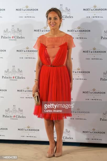 Tamara Falco attends 'Moet Ice Imperial' party at Palacio de Cibeles on June 13 2012 in Madrid Spain