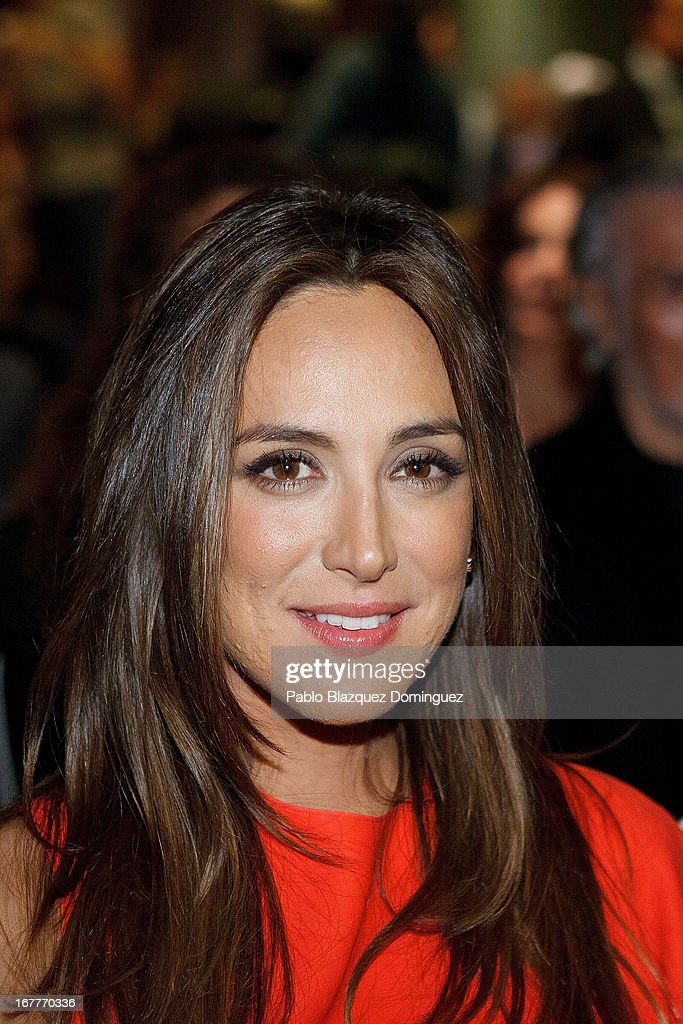 Tamara Falco attends 'Orange And Lemon' Awards ceremony at Sheraton Mirasierra Hotel on April 29, 2013 in Madrid, Spain.