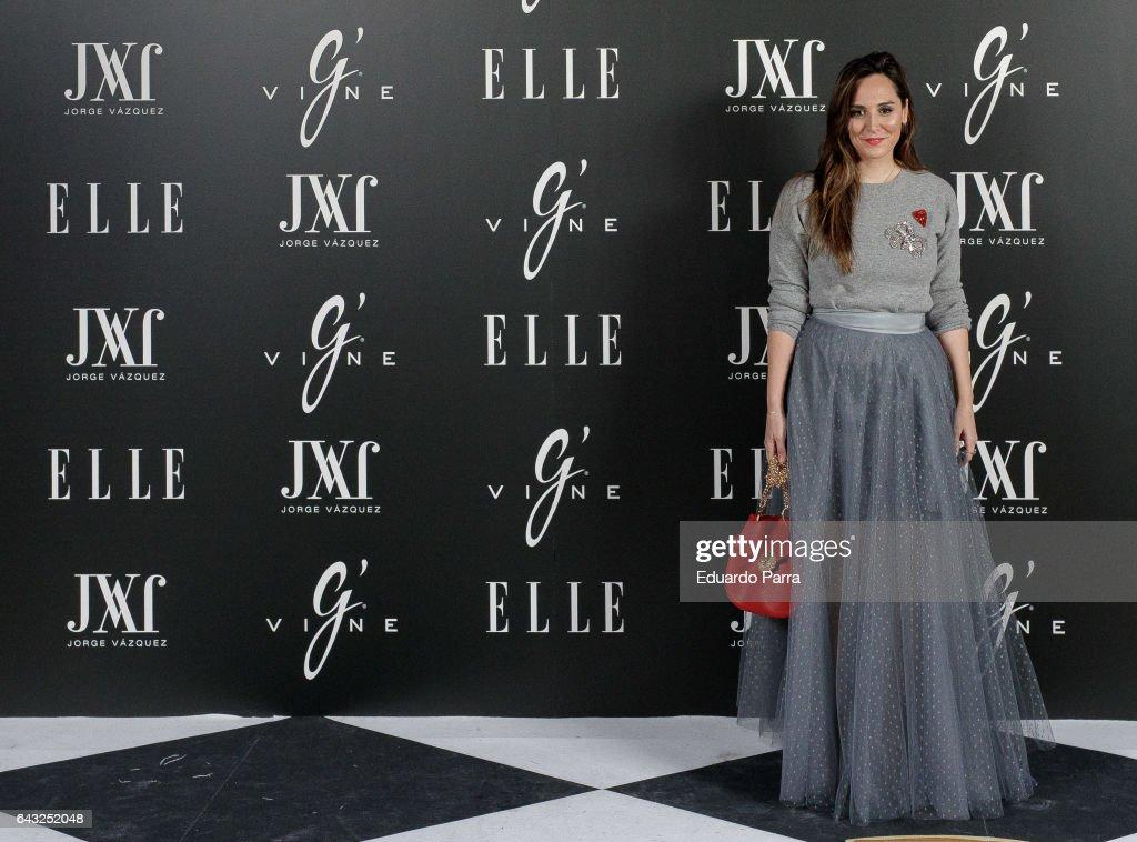 Elle & Jorge Vazquez Photocall in Madrid
