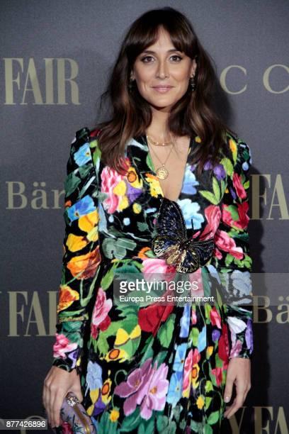 Tamara Falco attends the gala 'Vanity Fair Personality of the Year' to Garbine Muguruza at Ritz Hotel on November 21 2017 in Madrid Spain