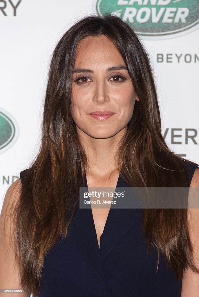 Tamara Falco attends the Land Rover Discovery Sport party at the Cibeles Palace on November 13 2014 in Madrid Spain