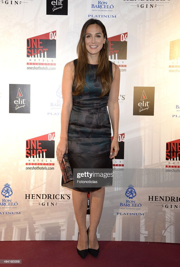 Tamara Falco attends the One Shot Hotel opening on May 28 2014 in Madrid Spain