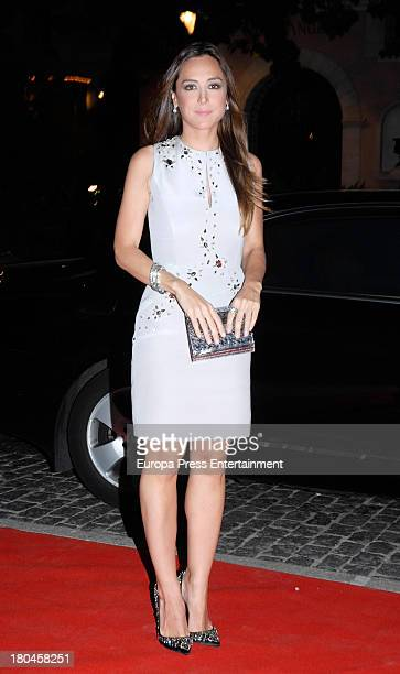 Tamara Falco attends the opening of a Porcelanosa store on September 12 2013 in Marbella Spain
