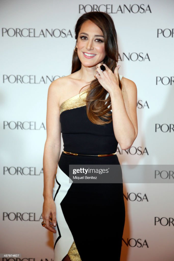 <a gi-track='captionPersonalityLinkClicked' href=/galleries/search?phrase=Tamara+Falco&family=editorial&specificpeople=2342427 ng-click='$event.stopPropagation()'>Tamara Falco</a> attends the Re Opening of a Porcelanosa store on December 19, 2013 in L'Hospitalet, Barcelona, Spain.