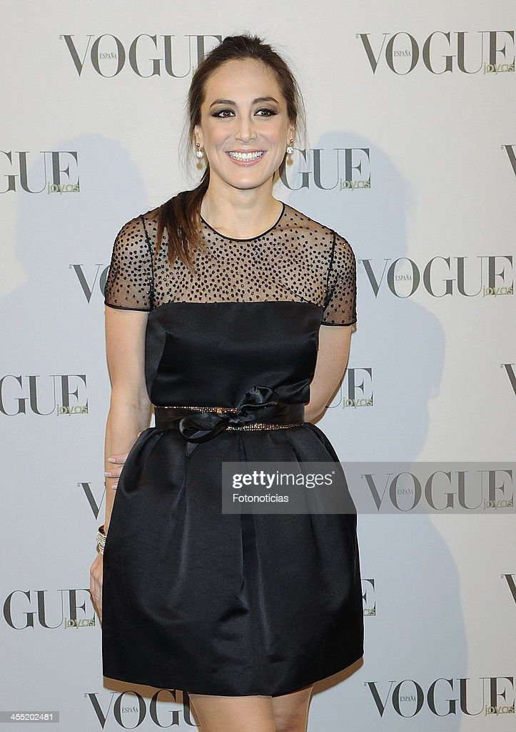 <a gi-track='captionPersonalityLinkClicked' href=/galleries/search?phrase=Tamara+Falco&family=editorial&specificpeople=2342427 ng-click='$event.stopPropagation()'>Tamara Falco</a> attends Vogue Joyas 2013 Awards at the Palacio de la Bolsa on December 11, 2013 in Madrid, Spain.