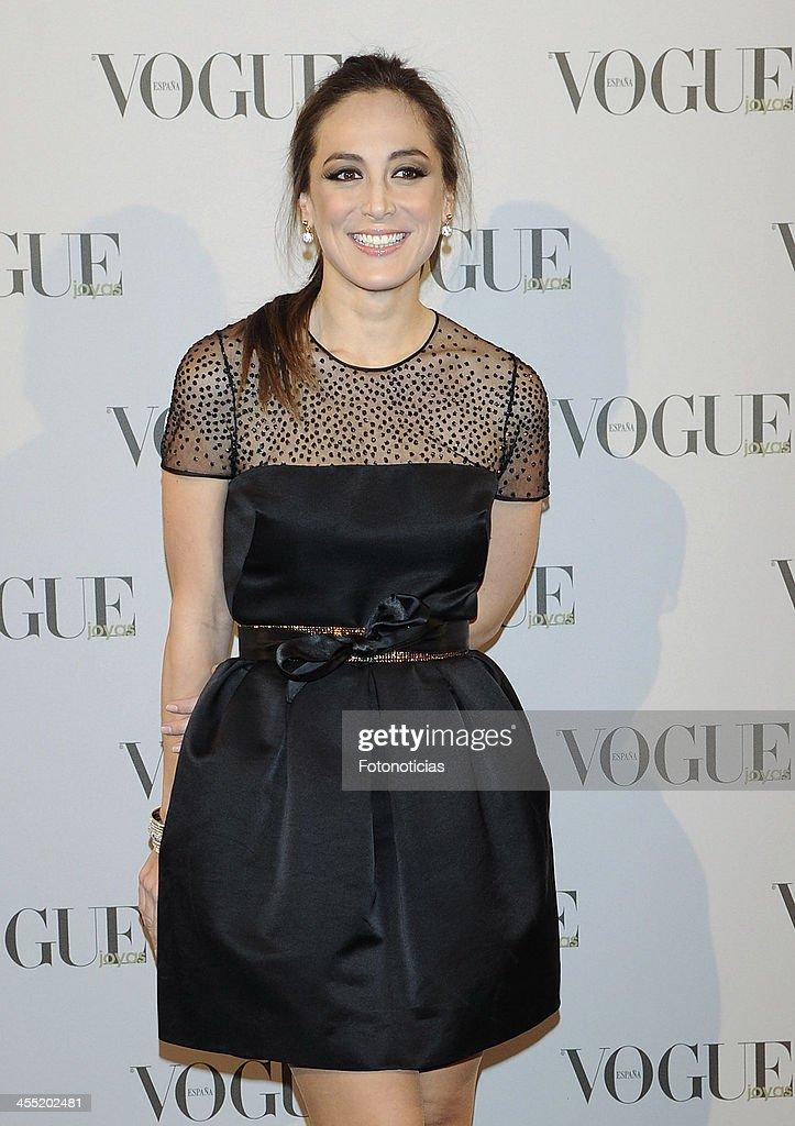 Tamara Falco attends Vogue Joyas 2013 Awards at the Palacio de la Bolsa on December 11, 2013 in Madrid, Spain.
