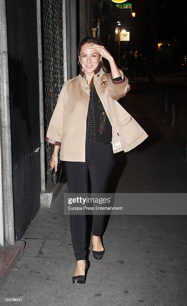 Tamara Falco is seen on October 25 2012 in Madrid Spain