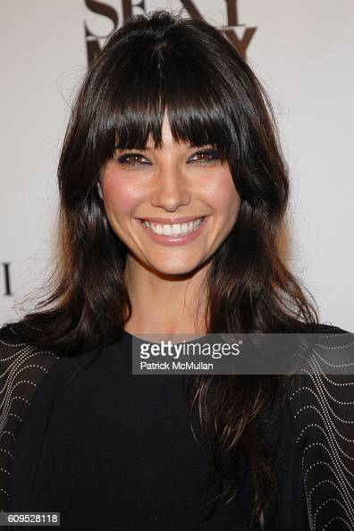 Tamara Feldman attends BVLGARI Presents the Premiere Event For 'Dirty Sexy Money' at Paramount Theatre on September 23 2007 in Los Angeles CA