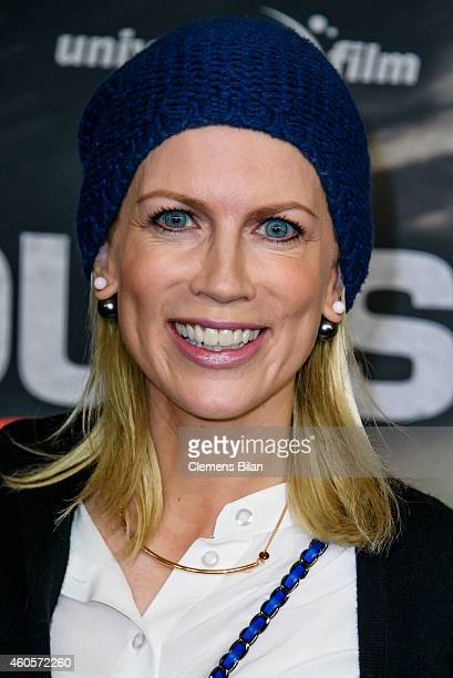 Tamara Graefin von Nayhauss attends the premiere of the film '96 Hours Taken 3' at Zoo Palast on December 16 2014 in Berlin Germany