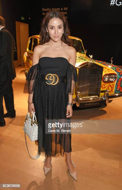 Tamara Kalinic attends the global debut of the new RollsRoyce Phantom at Bonhams on July 27 2017 in London England