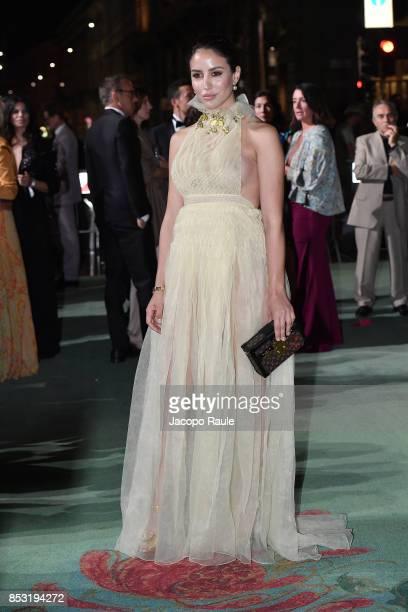 Tamara Kalinic attends the Green Carpet Fashion Awards Italia 2017 during Milan Fashion Week Spring/Summer 2018 on September 24 2017 in Milan Italy