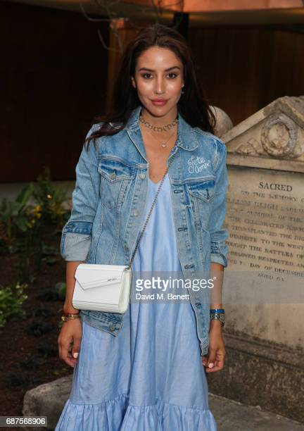 Tamara Kalinic attends the Jimmy Choo Mytheresacom dinner at The Garden Museum on May 23 2017 in London England