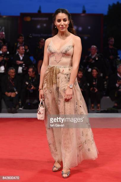 Tamara Kalinic walks the red carpet wearing a JaegerLeCoultre watch ahead of the 'Three Billboards Outside Ebbing Missouri' screening during the 74th...