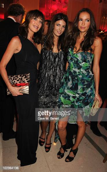 Tamara Mellon and Amanda Sheppard attend the Diane Von Furstenberg and Claridge's launch party at Claridge's on June 23 2010 in London England