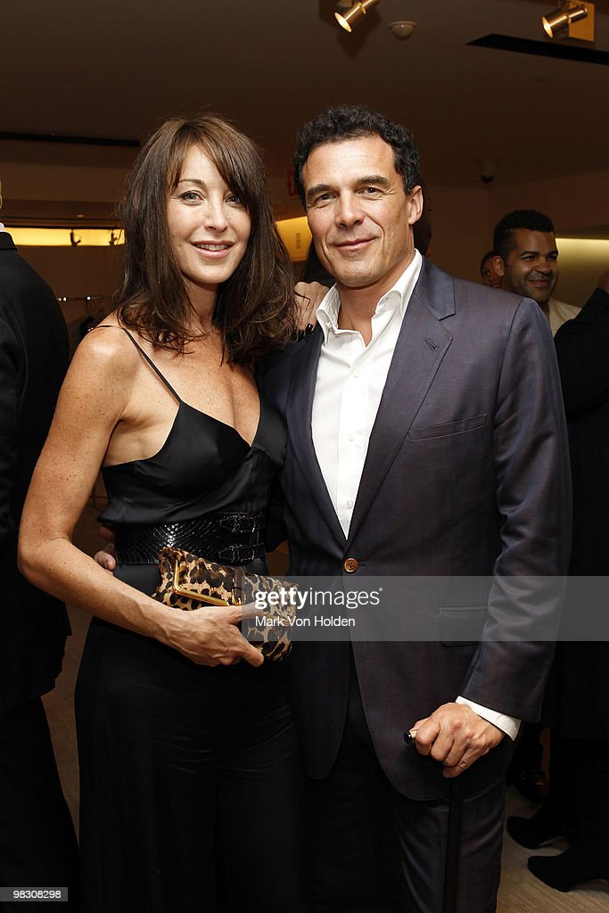 Tamara Mellon and Andre Balazs attend the book party for Derek Blasberg's Classy at Barneys New York on April 6, 2010 in New York City.