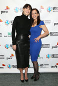 Tamara Mellon and Founder and CEO of Woman's Entrepreneurship Day Wendy Diamond attends the United Nations 2014 Women's Entrepreneurship Day at...
