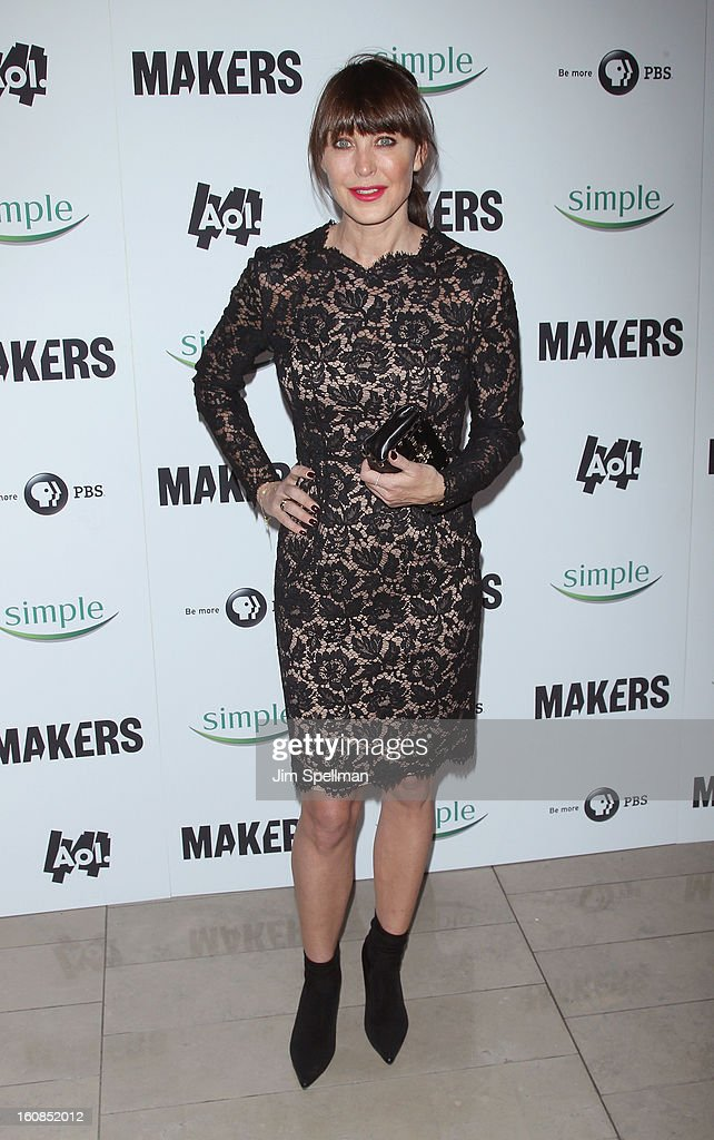 Women Who Make America' New York Premiere at Alice Tully Hall at Lincoln Center on February 6, 2013 in New York City.