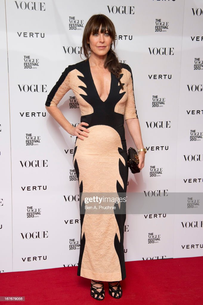 Tamara Mellon attends the opening party for The Vogue Festival in association with Vertu at Southbank Centre on April 27, 2013 in London, England.