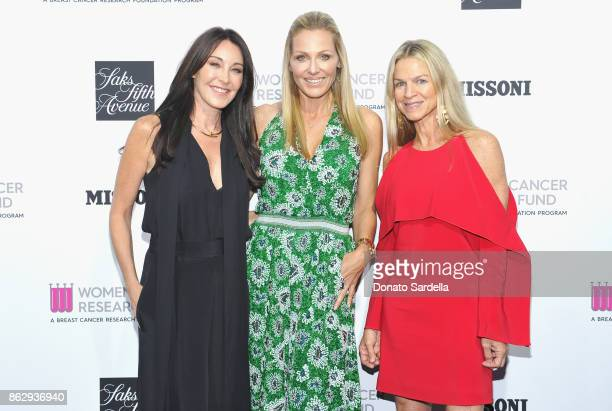 Tamara Mellon WCRF Founder Jamie Tisch and Crystal Lourd at SAKS FIFTH AVENUE and WOMENS CANCER RESEARCH FUND celebration of KEY TO THE CURE with...