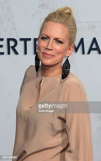 Tamara Nayhauss attends the Bertelsmann Summer Party at the Bertelsmann representative office on September 10 2014 in Berlin Germany
