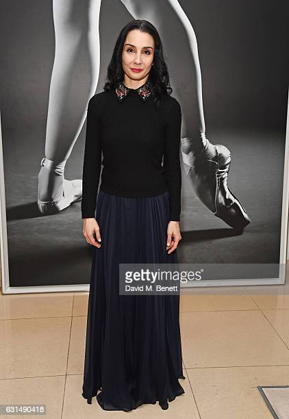 Tamara Rojo attends the opening night reception of the English National Ballet's production of 'Giselle' hosted by St Martins Lane on January 11 2017...
