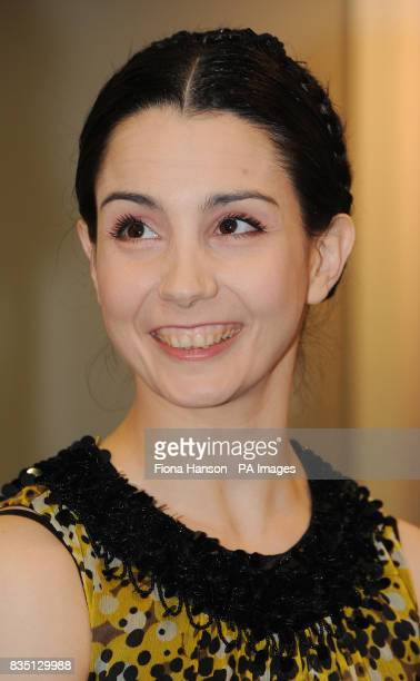 Tamara RojoPrincipal Dancer with the Royal Ballet at White Lodge where earlier Lady Sarah Chatto in her role as Vice President of the the Royal...