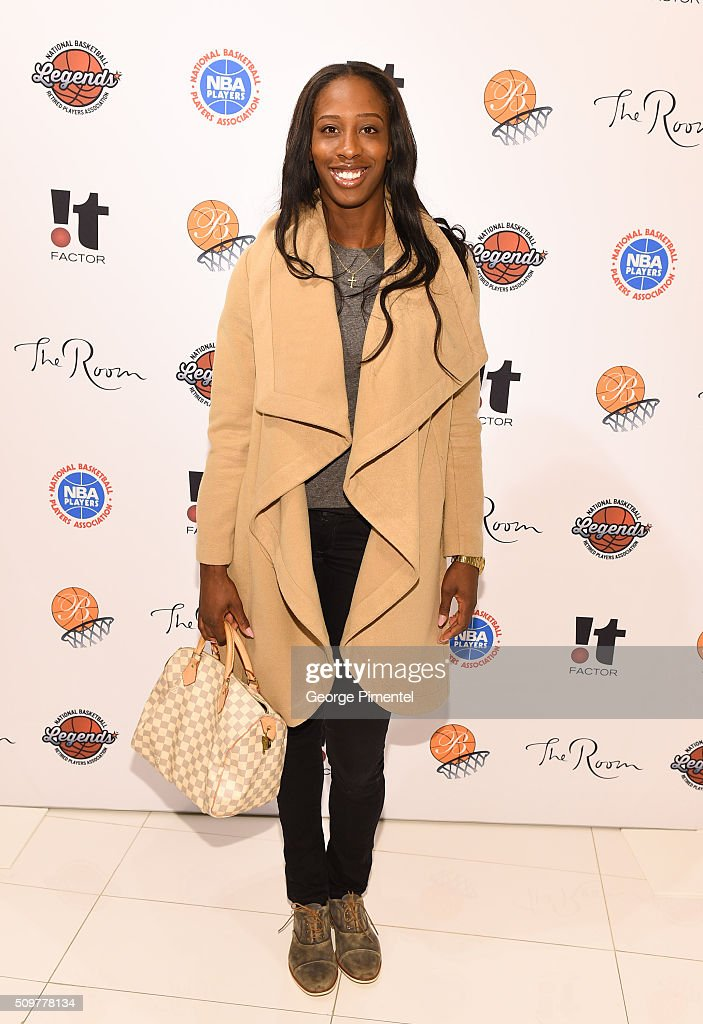 Tamara Tatham attends the Hudson's Bay Celebrates NBA All Star Weekend With Shopping Event In Support Of Behind The Bench And KickKids Hospital Foundation at The Room, Hudson's Bay on February 12, 2016 in Toronto, Canada.