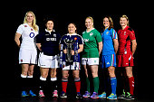Tamara Taylor of England Tracy Balmer of Scotland Gaelle Mignot of France Niamh Briggs of Ireland Silvia Gaudino of Italy and Rachel Taylor of Wales...