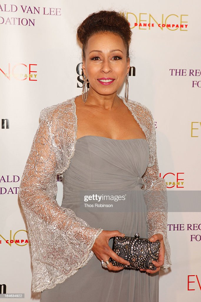 Tamara Tunie attends the Torch Ball hosted by Evidence, A Dance Company at The Plaza Hotel on March 25, 2013 in New York City.